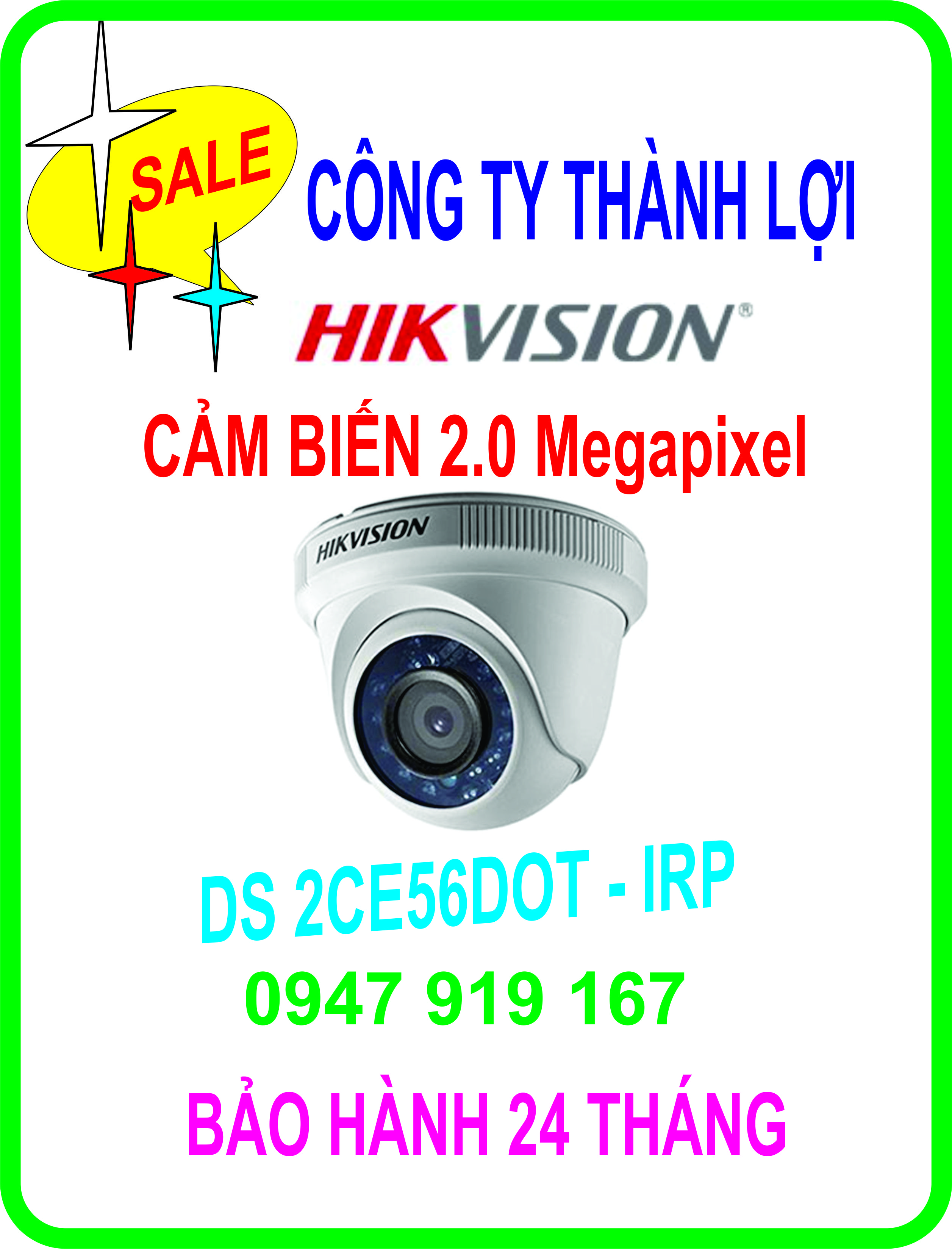 CAMERA HIKVISION DS 2CE56DOT-IRP