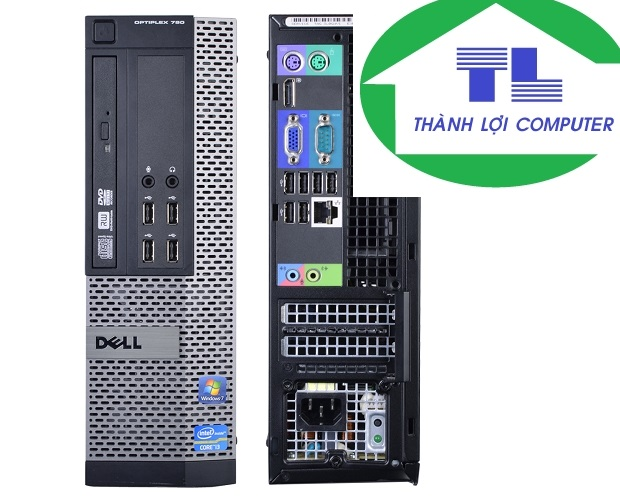 DELL OPTIPLEX 790SFF  I3-2100 ram 4g ssd 120g